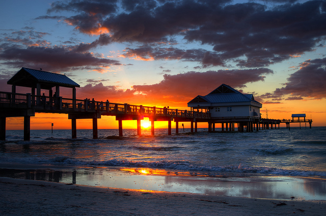 clearwater-beach-sunset